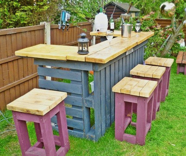 pallet bar ideas google