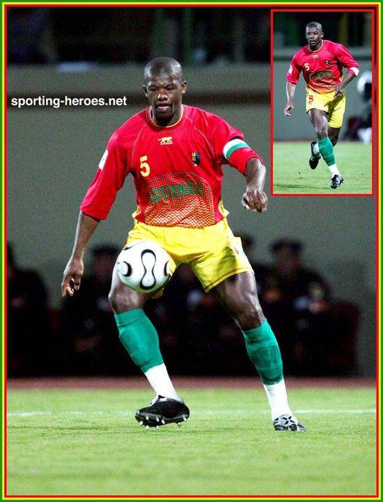 Bobo Balde - Guinee - Coupe d'Afrique des Nations 2006