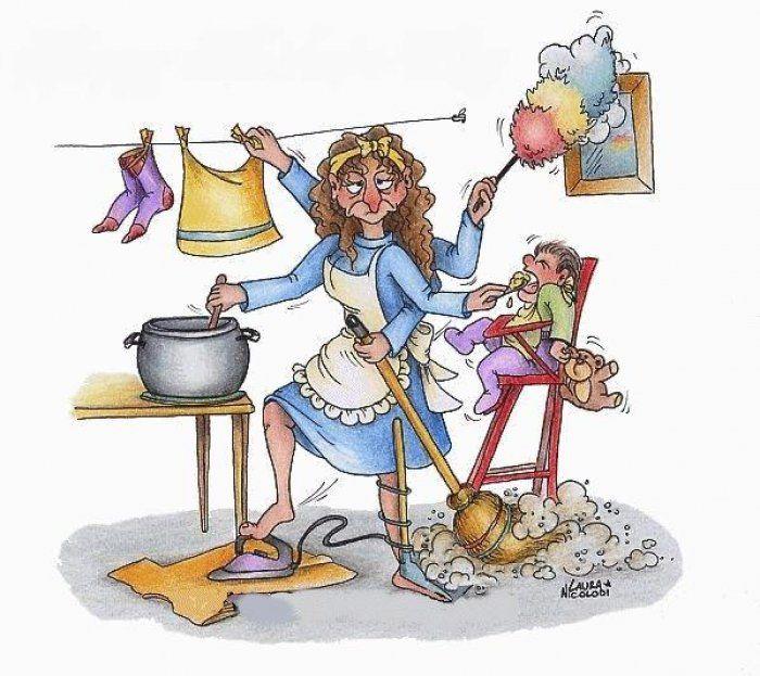 #Lavoro, se la #casalinga fosse considerata una professione incasserebbe 83.652 euro annui #guadagno #compenso
