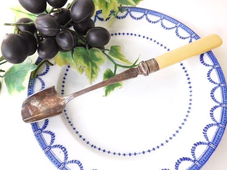 Antique Stilton Scoop Cheese Serving Spoon, Wilkinson Sheffield Serving Cutlery, Victorian Flatware, Downton Abbey, Wedding Silverware by CuriosAnCollectibles on Etsy