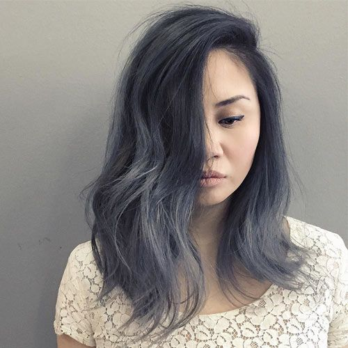 Best 20+ Dark grey hair ideas on Pinterest | Dark grey hair dye ...