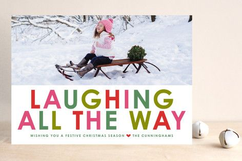 Winter Brights Christmas Photo Cards by toast & laurel at minted.com
