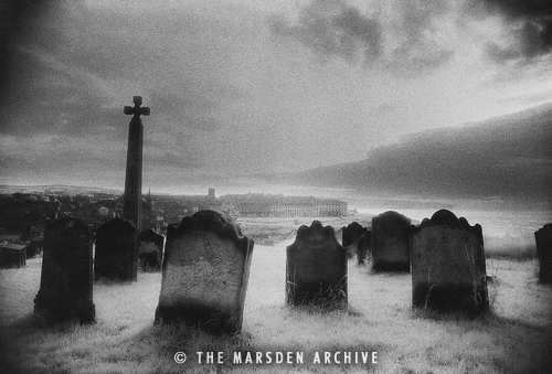 whitby churchyard.  simon marsden