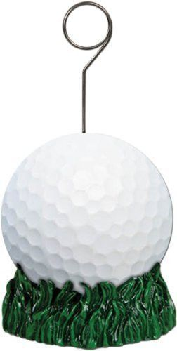 Polystone colorful photo and balloon holder can be used as a centerpiece or a party favor. Tie helium balloons to the attached metal ring to create a centerpiece or place a photo in the holder and you