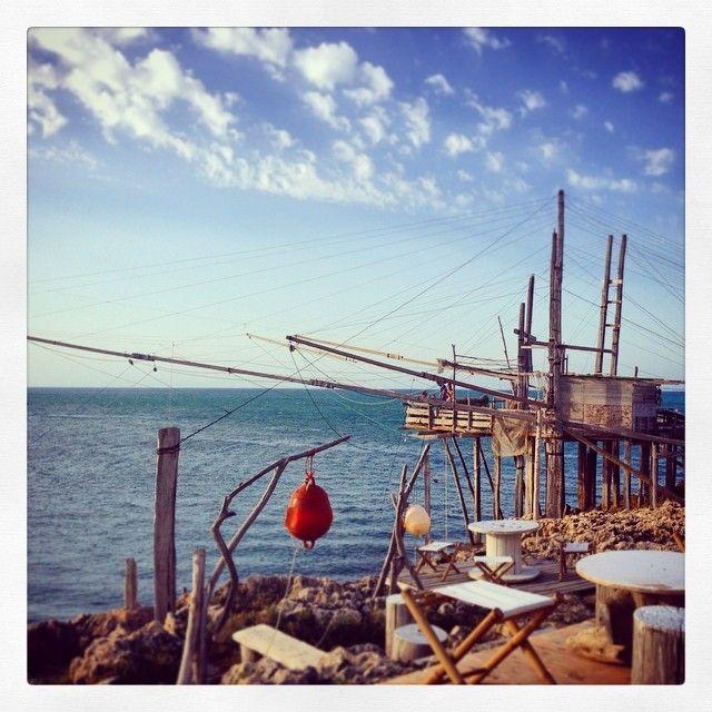 Trabucco da Mimì in Peschici, Puglia