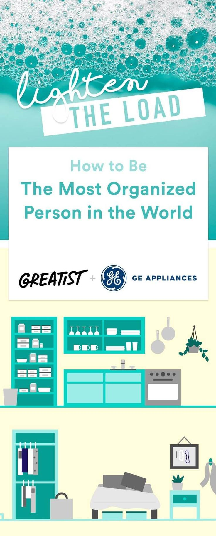 Conquer the chaos once and for all. #organization #home #office https://greatist.com/grow/how-to-be-organized