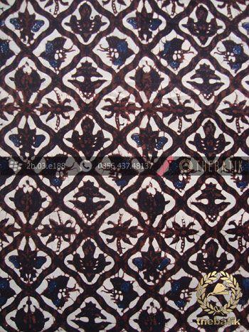 Batik Klasik Jogja Motif Sido Luhur Sogan | Antik Batik http://thebatik.co.id/kain-batik-bahan/batik-sogan-klasik/