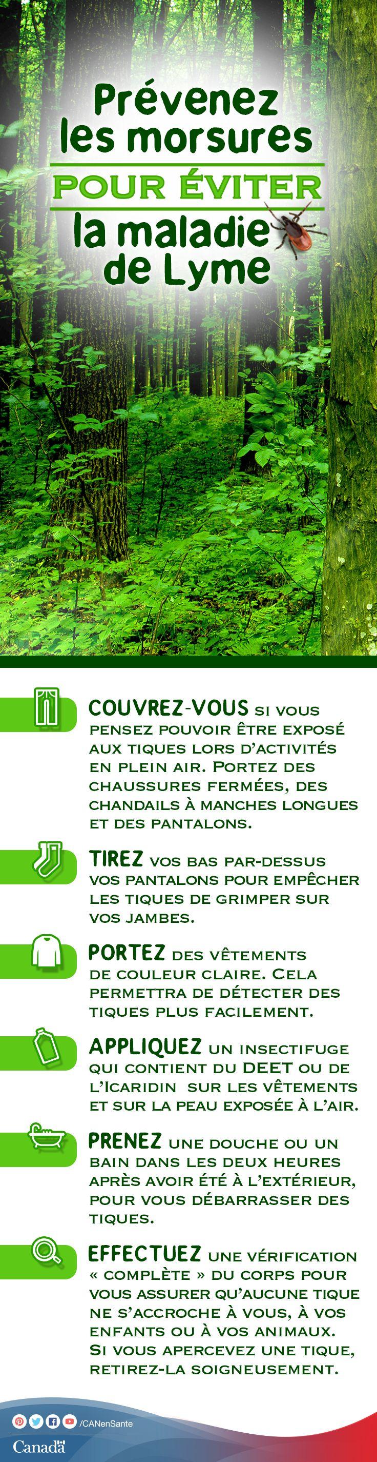 Apprenez-en plus sur les tiques et la maladie de Lyme:  http://www.canadiensensante.gc.ca/health-sante/disease-maladie/lyme-fra.php?_ga=1.89176991.525080773.1393857104&utm_source=pinterest_hcdns&utm_medium=social&utm_content=June5_lyme_FR&utm_campaign=social_media_14