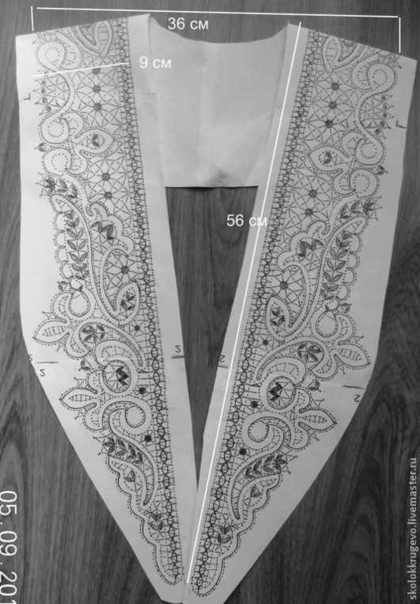 Другие виды рукоделия ручной работы. Ярмарка Мастеров - ручная работа воротник английский. Handmade.