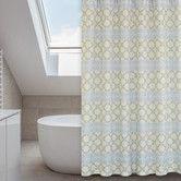 Found it at Wayfair - Vogue Polyester Shower Curtain Set