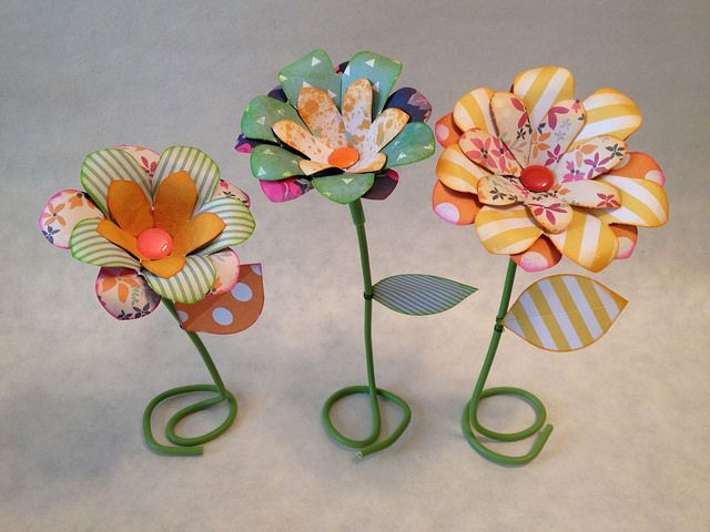 Scrap Time - Ep. 954 - Flower Punch Board | Flickr - Photo Sharing!