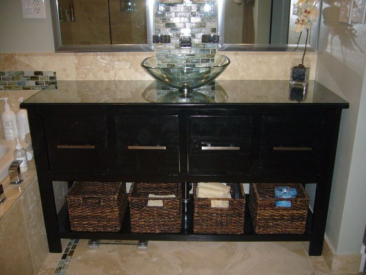 Bathroom Vanity Do It Yourself Home Projects From Ana