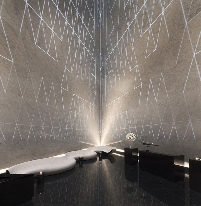 2013 Restaurant & Bar Design Award Winners,Best Bar: Atrium Champagne Bar (London) / Foster and Partners. Image