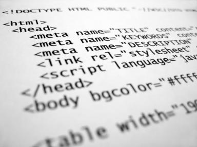 Who Invented the HyperText Markup Language (aka HTML)?: HTML Code