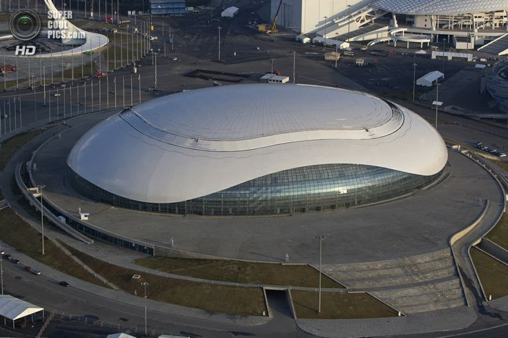 Ice Palace - Hockey Stadium, Olympic Park, Sochi.