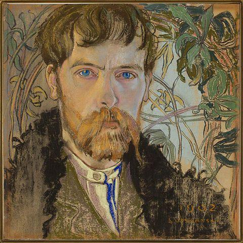 Stanisław Wyspiański, Autoportret 1902