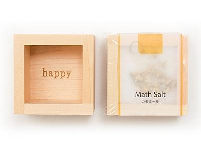 bath salt Math Salt (マスソルト) カモミール