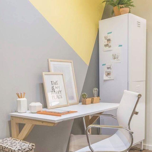Home office es lo de hoy #workaholic #homeoffice #gaiadesign #diseñomexicano #interiordesign #interiorismomx #geometry #organization