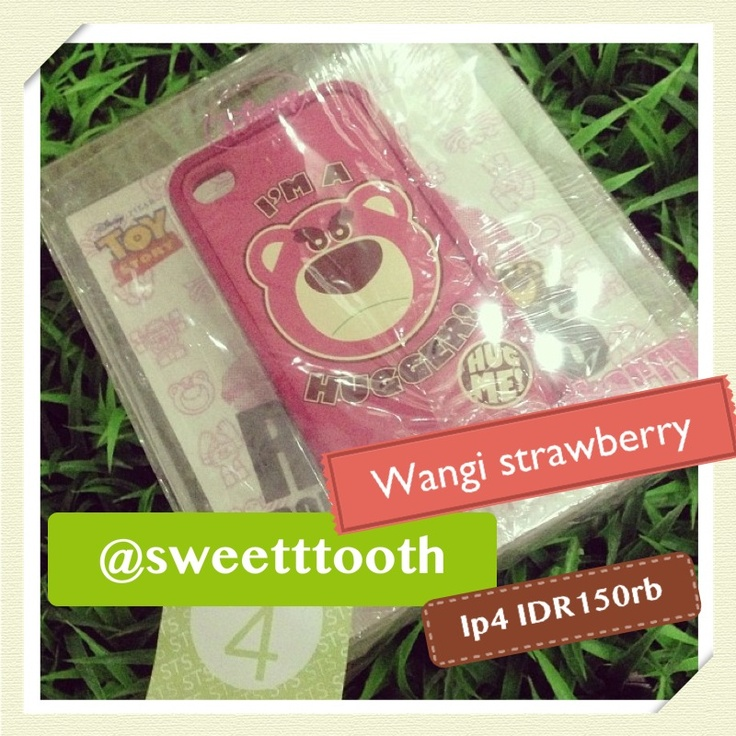 Lotso case for iphone 4/4s, IDR150.000