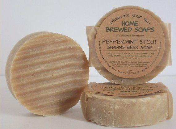Best Shaving Soap for Men Shaving Soap Natural by HomeBrewedSoaps, $7.00