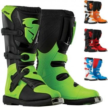 Thor Blitz Motocross Dirt Bike OffRoad Off Road Riding Boots