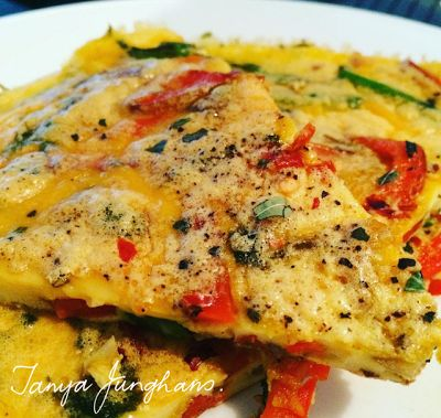 Easy Delicious Protein Packed Lunch: Frittata