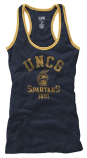 If I bought a uncg shirt, where I'm going to grad school, I'd get this one! Now only for some warmer weather!