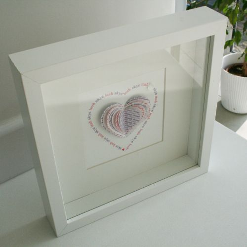 Best 11 box frame picture ideas ideas on pinterest picture ideas handmade personalised heart or butterfly handmade heart butterfly framed art new negle Choice Image