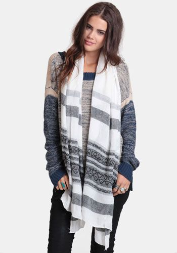 Willow Aztec Scarf 18.00 at threadsence.com