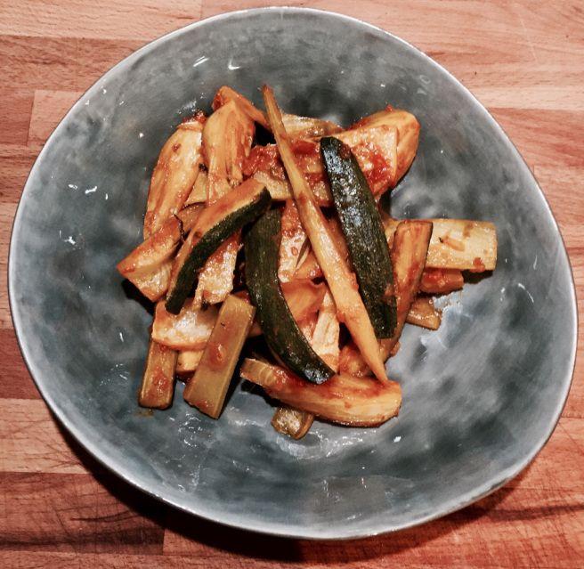 Geschmortes Fenchelgemüse | Randen und Marillen