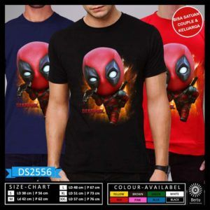 Kaos Lucu Deadpool