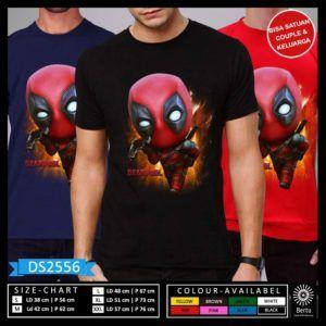 Kaos Lucu Deadpool