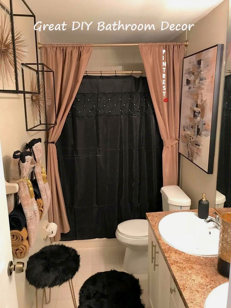 14 Very Creative Diy Ideas For The Bathroom Bathroom Diybathroom Bathroom Decor Apartment Bathroom Decor Restroom Decor
