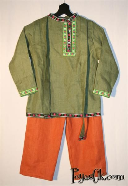 Национальная русская одежда рубашка выкройки