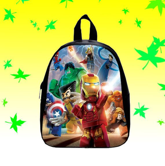 Lego Marvel Super Heroes   Backpack/SchoolBags for by FACIALBAG