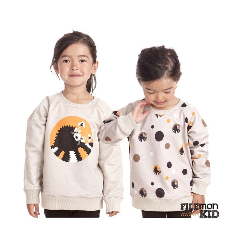 Reversible Sweatshirt Catbear