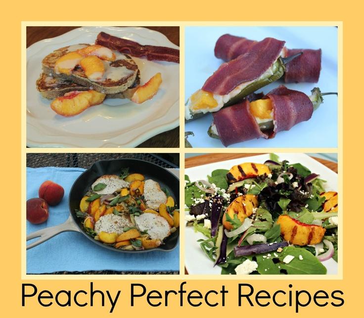 Moore Minutes: 4 amazing fresh PEACH recipes!