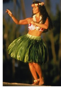 Hula Dance of Hawaii. I regret not taking the chance to learn those moves...but perfectly got the Lei making thing. :)