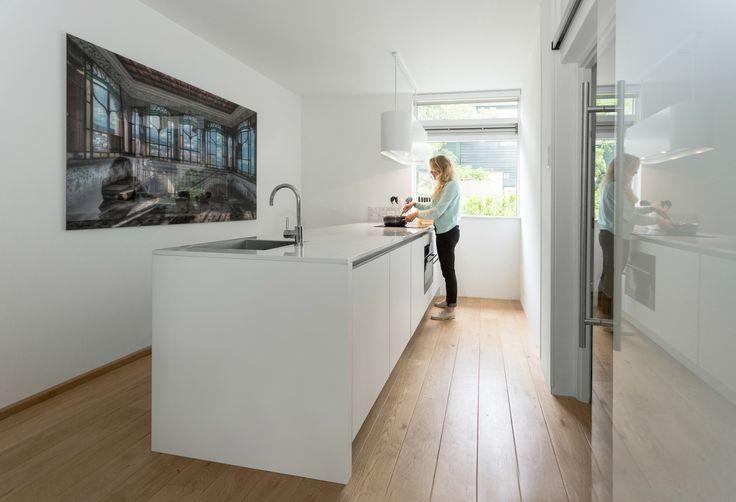 25 beste idee n over wit kookeiland op pinterest witte granieten keuken keuken granieten - Model keuken wit gelakt ...