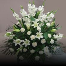 W Flowers product category: Funeral Flowers Funeral Home