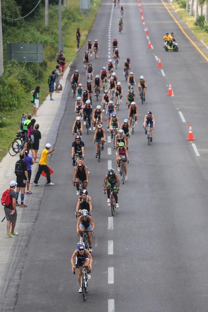 Ruta de ciclismo en el trazo carretero Xel-Há Tulum.