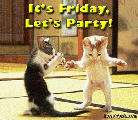 Happy Friday Quotes | That Friday Feeling: Party | Girl from the Hills Blog