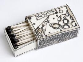 Matchbox with Dark Side Design by Katharine Morling