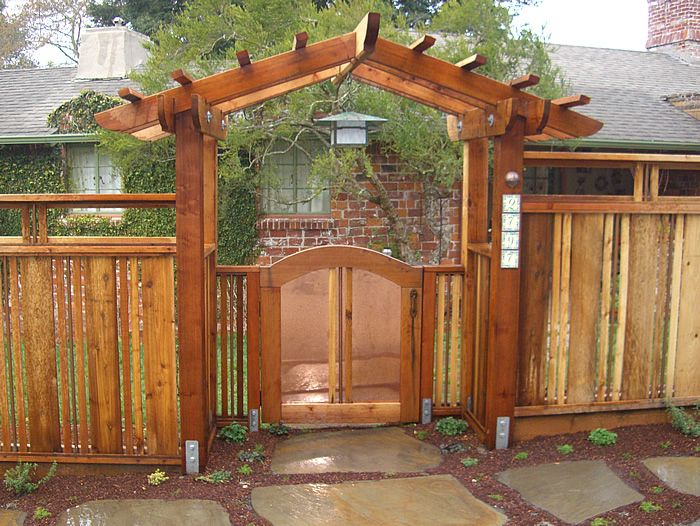 Great Http://www.biofriendlygardens.com/images/woodwork/gate/