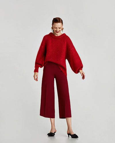 HIGH-WAIST TROUSERS - Available in more colours
