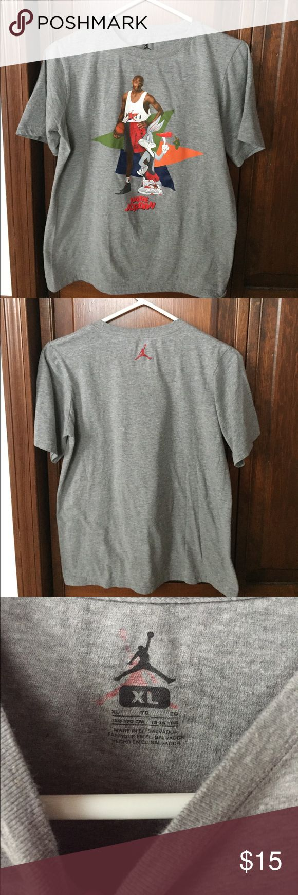Jordan Tee Jordan Hare Tee like new size XL in boys will fit a women's S Jordan Tops Tees - Short Sleeve