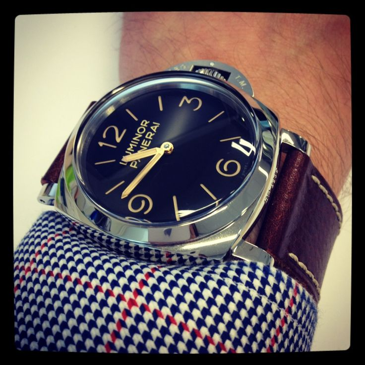 We absolutely love the Panerai range. Slightly understated but still extremely classy looking. A perfect compromise between smart and casual. www.theurbangentleman.co.uk