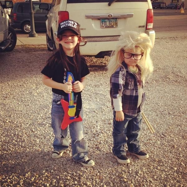 waynes world coolest kids on the block - Coolest Kids Halloween Costumes