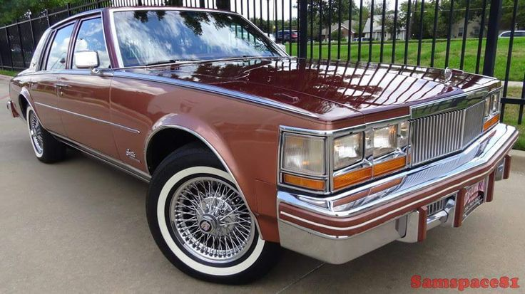 """crazyforcars:  """"1979 Cadillac Seville Elegante, with real wire wheels  """"  Oh"""