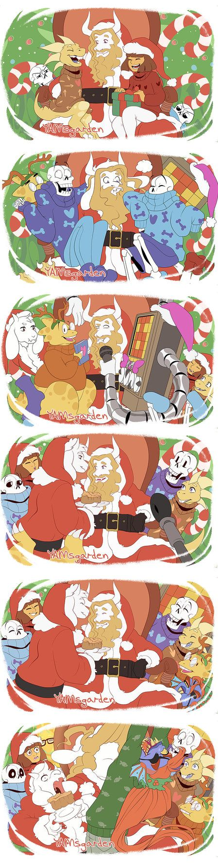 HAPPY HOLIDAYS! by YAMsgarden.deviantart.com on @DeviantArt << all hail the AWESOME princess